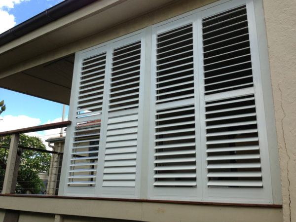 Australian Made Aluminium outdoors shutters