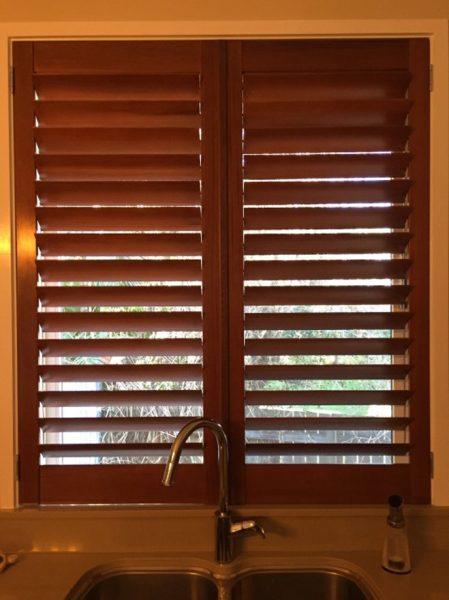 Cedar Timber shutters
